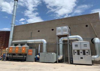 System filtracji powietrza dla przemysłu